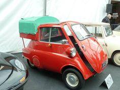 1961 Isetta pickup - a little different! Henry Miller, Van, Vans, Vans Outfit