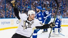 Pittsburgh Penguins force game 7 vs Lightning in Eastern Conference Finals Pittsburgh Sports, Pittsburgh Penguins Hockey, Tampa Bay Lightning Game, Fighting Demons, Pens Hockey, Eastern Conference Finals, Hockey Baby, Ice Hockey