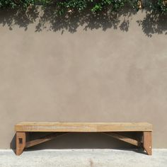 2m long bench seat. Made from recycled and reclaimed timber. shop.timbermill.com.au / $345.00