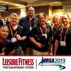 @leisurefitness - #leisurefitness team at #IHRSA #Health & #Fitness Convention at the #MandalayBay #Vegas | #CommercialFitnessSolutions - #befitstayfitlivewell