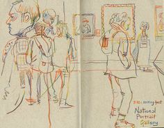Sketching in the National Gallery