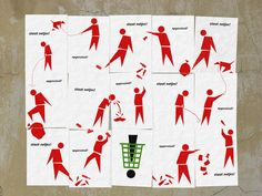 Callcoone's anti litter campaign - the essence of littering demonstrated by interlinked posters