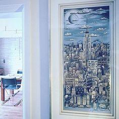 New York bei Vollmond - von Charles Fazzino. . . .  #homedeko#homedekor#homedetails#interiordekor#styling#interior#interiordesign#interiorinspo#interior2you#instagood#interior123#passion4interior#inspoweekend#whiteinterior#roomdesign#germanblogger#wohnkonfetti#interior_and_living#roomforinspo#homeadore#interiorandhome#interior4all#charminghomes#interiorideas#lovelyinterior#homeideas#roomdesgin#houseandhome