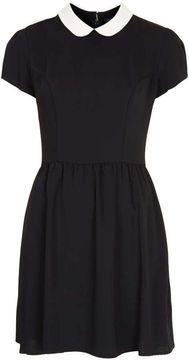 ShopStyle.co.uk: Contrast Collar Dress £46.00
