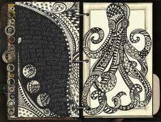 silvia barzola arte: Zentangle 2