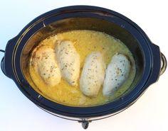 Crockpot Olive Garden Chicken Recipe! {3 Ingredients} - Never Ending Journeys