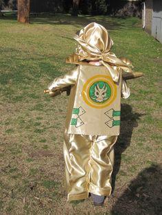 "2013 The Golden Ninja - LEGO Ninjago costume - handmade by ""BJ Design & Embroidery "" Halloween Sewing, Boy Halloween, Hallowen Costume, Son Love, Valentine Box, Lego Ninjago, 7th Birthday, Costumes, Costume Ideas"