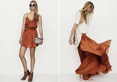 lovely rust coloured maxi skirt ....