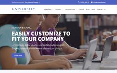 University – Education Website Template | Meteorsites WebsitesWith this modern and responsive html5 Webflow template it's easy to grow a large collection of education courses and show your events as well. Use the blog to keep your visitors updated. Style the template any way you want to fit your branding.