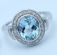 natural blue diamond engagement rings