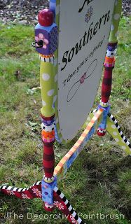 Beautiful piece from The Decorative Paintbrush http://thedecorativepaintbrush.blogspot.com