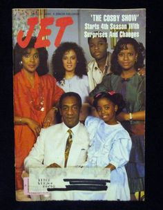 Jet Magazine - The Cosby Show, 1987