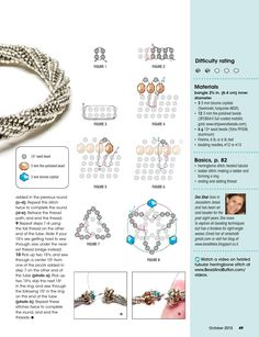 Bead And Button by BeadworkBrasil Seed Bead Jewelry, Beaded Jewelry, Beaded Bracelets, Seed Beads, Jewellery, Peyote Patterns, Beading Patterns, Sewing Class, Beads And Wire