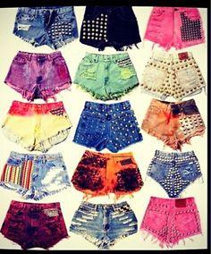 Really cute DIY shorts