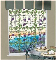 "Grapevine 24"" x 37"" Clear Stained Glass Window Film by Wallpaper For Windows. $24.95. Add decorative privacy with this faux Glass Block window film. Easily add decorative elegance to any window, glass door, shower enclosure, glass tables, conference rooms, cabinet doors, and more.. Easily add the decorative elegance of glass block to any window, glass door, or shower enclosure with this adhesive-free, vinyl film. An octagonal glass block design with a lightly frosted inset..."
