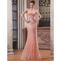 ANA LUCIA - Vestido de Noche de Gasa y Tul – USD $ 1,499.99