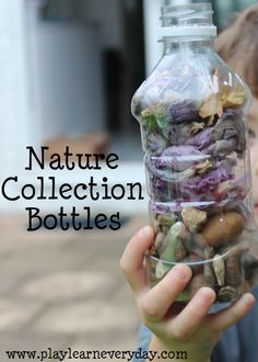 Nature Collection Bottles - Play and Learn Every Day