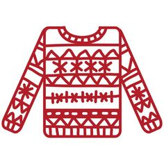 Silhouette Design Store - View Design #166462: christmas sweater