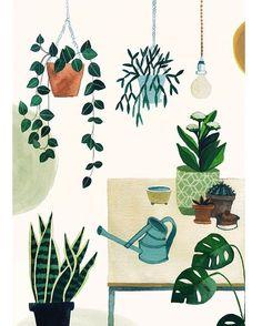 Illustration: Valesca van Waveren ~ Seen on HappyMakersBlog.com