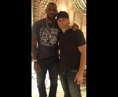 Jaromir Jagr / Facebook -  Four rings. Two greats. Jaromir Jagr & LeBron James 7-19-2015