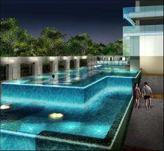 Cascading Pool... dream house item