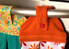 Tutorial: Kitchen towels that stay put