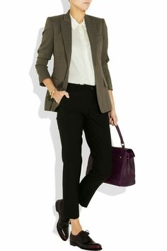 Style Outfits, Tomboy Outfits, Business Casual Outfits, Professional Outfits, Business Attire, Office Outfits, Converse Outfits, Business Style, Girl Outfits