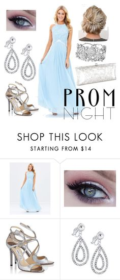 """Share This Elegance/ light blue"" by k-oden ❤ liked on Polyvore featuring J. Furmani"