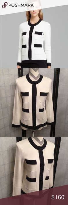 Kate Spade Baxter Jacket Like New Size small, in perfect shape. Worn twice and dry cleaned. Originally $368.  Happy to bundle :)   All items come from a clean, non smoking home.   Check out my other items! Lots of Nike, Victoria Secret, Lululemon, Gap, Rock Revival & Miss Me items. kate spade Jackets & Coats
