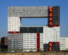 Постмодернистская архитектура #стройматериалы
