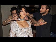 Kim Kardashian Shows Backup Met Gala Dresses - YouTube