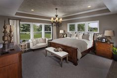 The 2600 Model at Bridgewater - Master Bedroom