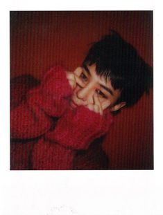 BIGBANG's {G-DRAGON} 2016 WELCOMING COLLECTION Polaroid