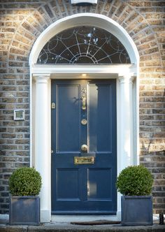 The door which located at the 4 Mountpleasant Square, Dublin