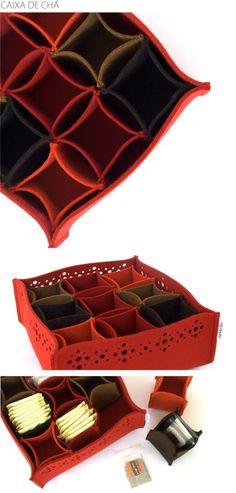 Ideia para organizar gavetas