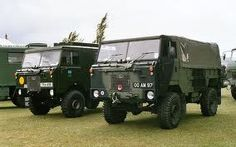 Land Rover 101 Forward Control G.S. winch truck