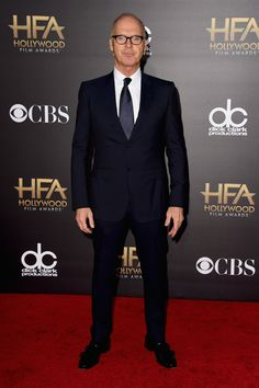 Pin for Later: Toutes Nos Stars Favorites Ont Assisté Aux Hollywood Film Awards Michael Keaton