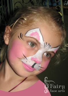 Los Angeles cat face painting design - Children's Entertainment ... More