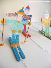 Image result for snowboard craft for kids