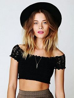 Tottaly chic crop topm