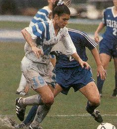 Mia Hamm playing for UNC in 1992. Photo credit: Sports Illustrated Magazine, December 1992