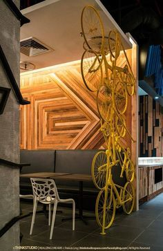 Creative use of materials - commercial design