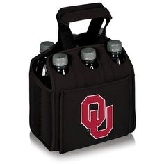 Picnic Time NCAA Six Pack Heavy Duty Cooler Color: Black, NCAA Team: Iowa