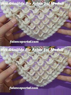 Beautiful stitches and the pattern is gorgeous - Crochet Brazil Crochet Cape, Crochet Shawl, Crochet Stitches, Knit Crochet, Youtube Crochet, Crochet Video, Easy Crochet Patterns, Baby Knitting Patterns, Crochet Designs