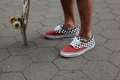 Supreme x Vans Authentic 'Checkered Corduroy' Pack
