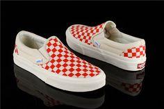 a4467c458e Free shipping Vans Lattice series Women canvas shoes