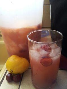 Food. Glorious Food: Cherry Lemonade