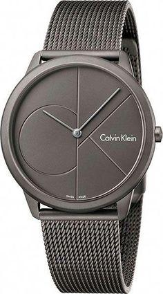 c9e7fce5e23d Мужские швейцарские наручные часы Calvin Klein K3M517P4  watchUnique Reloj  Gucci Hombre