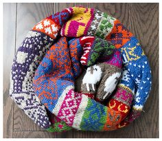 """Two Color Fair Isle Patterns 