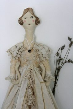 Art Doll 'The Ghost of Jane Eyre'  by Pantovola
